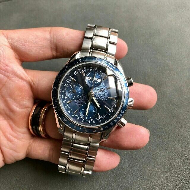 OMEGA - オメガ スピードマスター デイト 3222.80 メンズ SS 自動巻 時計の通販 by dfhgf856f5h's shop|オメガならラクマ