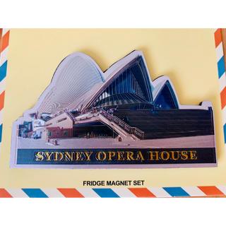 新品未使用 オーストラリア シドニー オペラハウス マグネット(収納/キッチン雑貨)