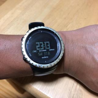 スント(SUUNTO)のSUUNTO スント 腕時計 電池交換済み!(腕時計(デジタル))