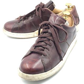 ヴィスヴィム(VISVIM)のvisvim ヴィスヴィム 革靴 スニーカー 茶 ブラウン 26cm(スニーカー)