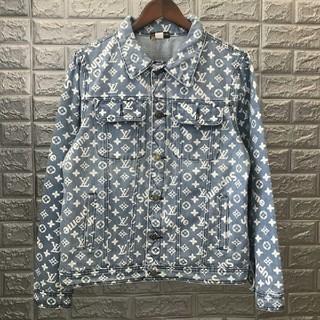 ルイヴィトン(LOUIS VUITTON)のルイヴィトン デニムジャケット 男女兼用 超美品 ファッション(Gジャン/デニムジャケット)