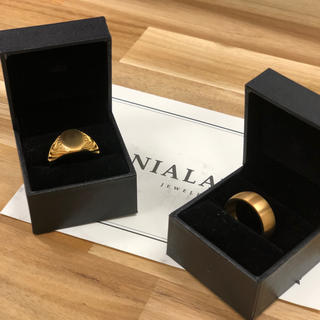 Nialayajewelry ナイアラヤ ゴールドリング 2セット販売(リング(指輪))