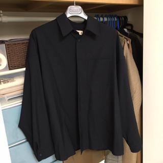 マルニ(Marni)の19SS   marni    ジャケットシャツ   ネイビー    48(シャツ)