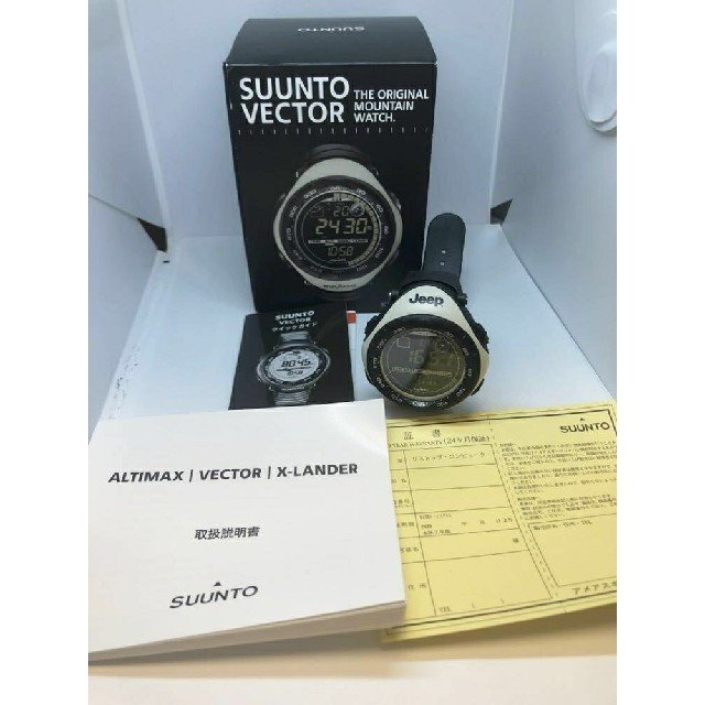 SUUNTO - 激レア★Jeepモデル★新品【SUUNTO スント】 ベクター 腕時計 カーキの通販 by anfan0207's shop|スントならラクマ