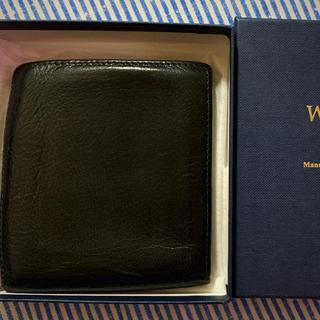 ホワイトハウスコックス(WHITEHOUSE COX)の❣️ホワイトハウスコックス メンズレザー二つ折れ財布❣️(折り財布)