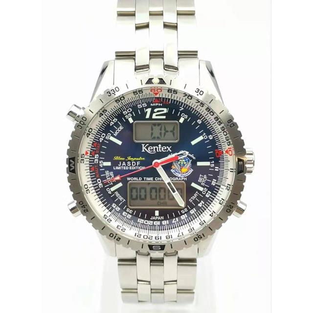 KENTEX - KENTEX S368X-15 JASDFスカイマンブルーインパルス 限定 時計の通販 by MAU|ケンテックスならラクマ