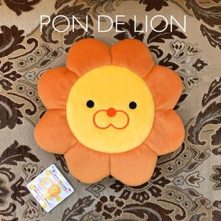 バンプレスト(BANPRESTO)のタグ付き未使用 ポンデライオン 顔型ぬいぐるみポーチ 大きめサイズ(ポーチ)