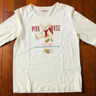ピンクハウス(PINK HOUSE)のピンクハウス❤️長袖くまちゃんカットソー(Tシャツ(長袖/七分))
