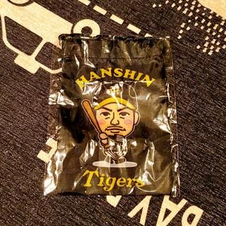 ハンシンタイガース(阪神タイガース)の阪神タイガース 鳥谷 ミニ巾着(スポーツ選手)