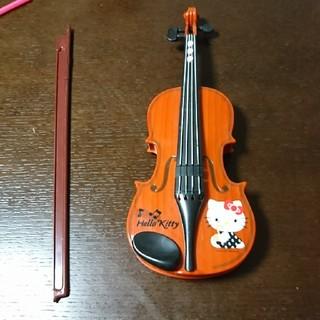 ハローキティ(ハローキティ)のハローキティ バイオリン(楽器のおもちゃ)