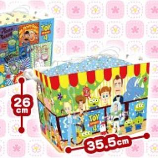 トイストーリー(トイ・ストーリー)のトイ・ストーリー 巾着付き収納BOX(ケース/ボックス)