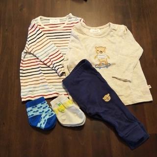 ネクスト(NEXT)の【虹☆ママ様専用】60cm NEXT baby セットアップ、靴下(シャツ/カットソー)