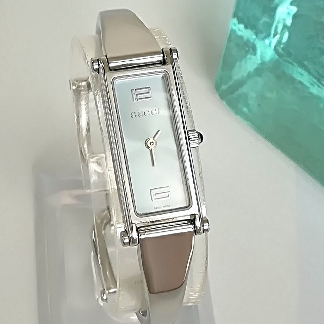 Gucci - 綺麗 グッチ 電池交換済み 12 6 アラビア レディース ウォッチ 時計 美品の通販 by coco shop|グッチならラクマ