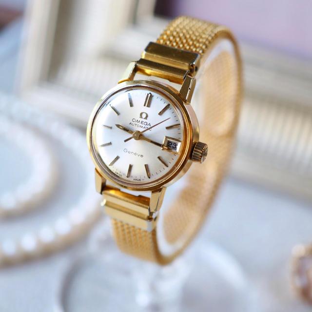 OMEGA - 美品✨OMEGA 自動巻 3針 デイト付き ベルト2本✨ドレステリア カルティエの通販 by Plumage❤︎antique watch|オメガならラクマ