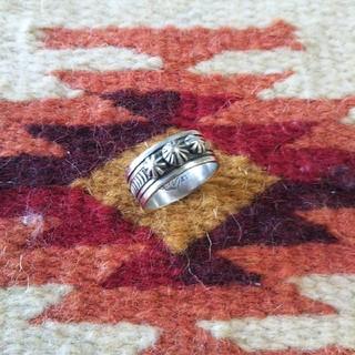 インディアン(Indian)のインディアンジュエリー ナバホ族 sterling スターリングシルバーリング (リング(指輪))