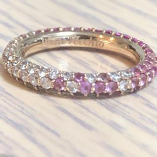 ポンテヴェキオ(PonteVecchio)のポンテヴェキオ   エテルノリング K18PGピンクサファイアダイヤモンドリング(リング(指輪))