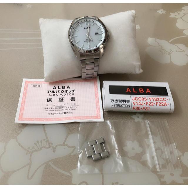 ALBA - T142未使用★SEIKO セイコー ALBA アルバ ソーラー メンズ 腕時計の通販 by Only悠's shop|アルバならラクマ