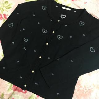 アクシーズファム(axes femme)のmiffy-17様専用♡axes femme♡刺繍が可愛いカーディガン(カーディガン)
