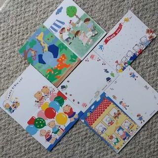 ファミリア(familiar)のFAMILIAR のポストカード7枚セット(使用済み切手/官製はがき)