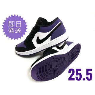ナイキ(NIKE)のAIR JORDAN 1 LOW  Court Purple(スニーカー)