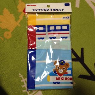 ミキハウス(mikihouse)のミキハウスランチクロス(ランチボックス巾着)