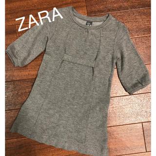 ザラキッズ(ZARA KIDS)のチュニック(Tシャツ/カットソー)