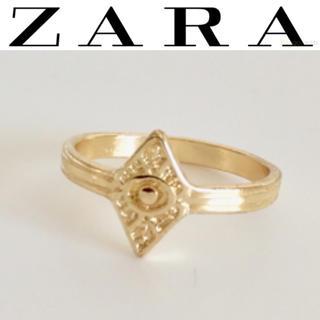 ザラ(ZARA)の【未使用】ZARA ゴールド 指輪 リング(リング(指輪))