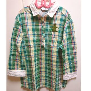 マンシングウェア(Munsingwear)のmunsingwear ポロシャツ七分丈(ポロシャツ)