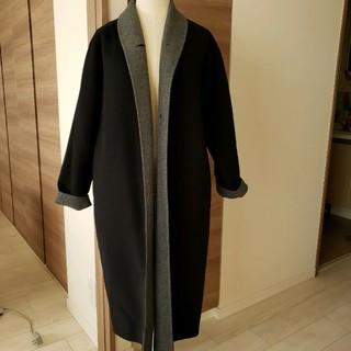 シップス(SHIPS)のSHIPS カシミア入り上質コート 美品 軽量&暖か(ロングコート)