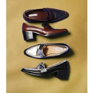 アメリヴィンテージ(Ameri VINTAGE)のAMERI POINTED COIN LOAFER(ローファー/革靴)