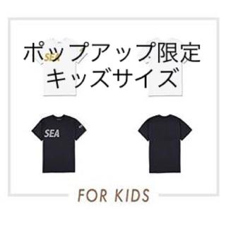シュプリーム(Supreme)のWIND AND SEA KIDS TEE BLACK-SILVER(Tシャツ/カットソー(半袖/袖なし))