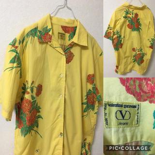 ヴァレンティノガラヴァーニ(valentino garavani)のvalentino garavani アロハシャツ 総柄シャツ デザインシャツ(シャツ/ブラウス(半袖/袖なし))