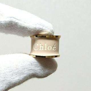 クロエ(Chloe)のChloe リング ピンクベージュ×ゴールド ヴィンテージ 限定(リング(指輪))