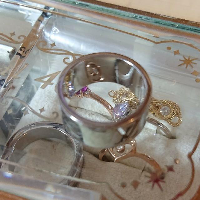 LOUIS VUITTON(ルイヴィトン)の廃盤品 メンズ シャンゼリゼリング レディースのアクセサリー(リング(指輪))の商品写真