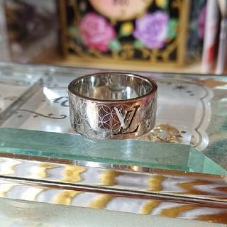 ルイヴィトン(LOUIS VUITTON)の廃盤品 メンズ シャンゼリゼリング(リング(指輪))