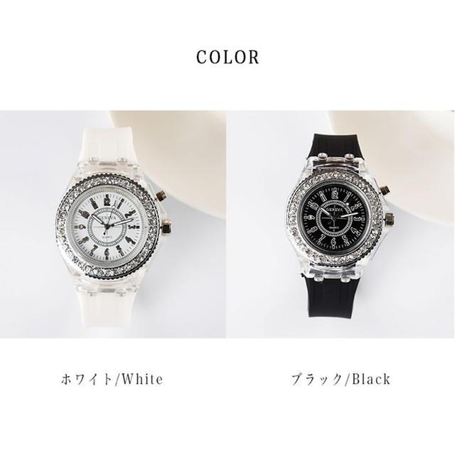 光る レディース腕時計の通販 by SHOW BOOTH|ラクマ