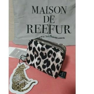 メゾンドリーファー(Maison de Reefur)のメゾンドリーファー レスポートサック レオパードポーチ(ポーチ)