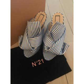 N°21 - ヌメロ N°21 サンダル 37 新品未使用 かなりお得!!