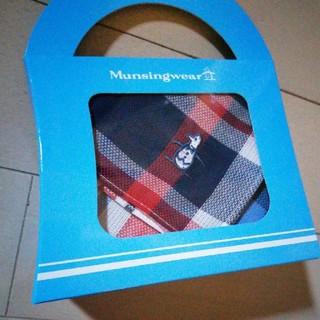 マンシングウェア(Munsingwear)のMunsingwear ハンカチ 箱入り新品 プレゼントに(ハンカチ/ポケットチーフ)