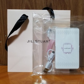 ジルスチュアート(JILLSTUART)のジルスチュアート モバイルバッテリー(バッテリー/充電器)