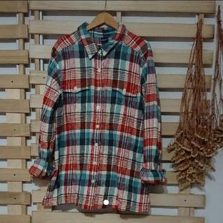 パタゴニア(patagonia)のpatagonia ヘイウッドフランネルシャツ  サイズ12(シャツ/ブラウス(長袖/七分))
