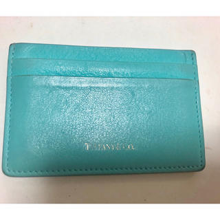 ティファニー(Tiffany & Co.)のティファニー❤️カードケース、定期入れ Tiffany(名刺入れ/定期入れ)