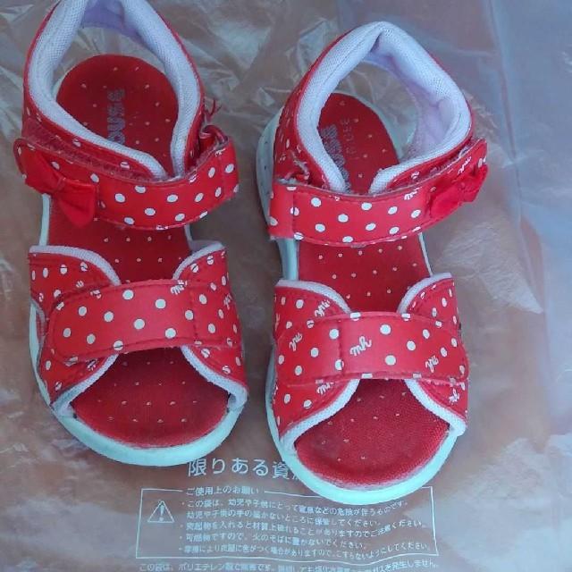 mikihouse(ミキハウス)のミキハウス キッズ/ベビー/マタニティのキッズ靴/シューズ (15cm~)(サンダル)の商品写真