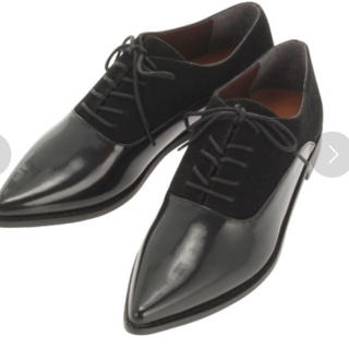 アングリッド(Ungrid)のUngrid レースアップフラットシューズ 革靴(ローファー/革靴)