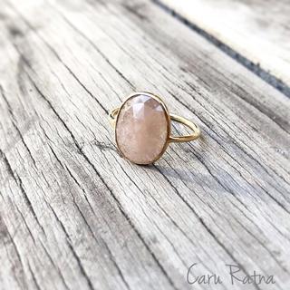 サファイアリング pink 3(リング(指輪))