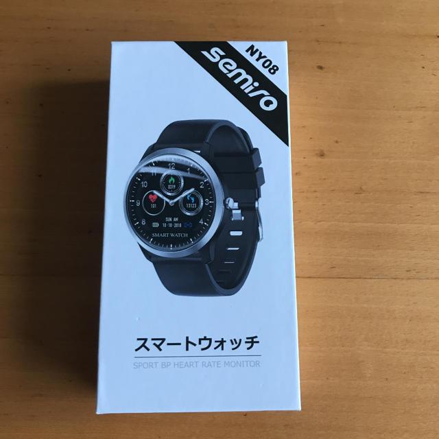 【令和モデル】スマートウオッチSemiro NY 08の通販 by デカデカプリン's shop|ラクマ