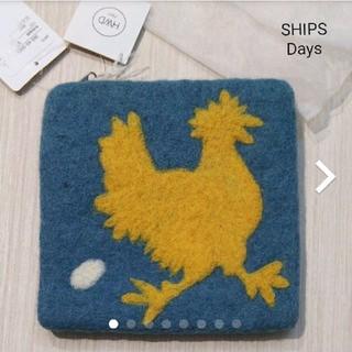 シップス(SHIPS)の【SHIPS Days】新品wool100%アニマル柄ポーチ(ポーチ)