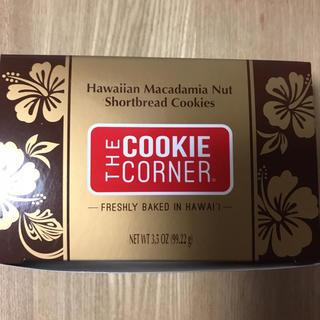 クッキーコーナー マカダミアナッツショートブレッド チョコレートデップド(菓子/デザート)