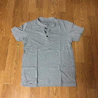 ローズバッド(ROSE BUD)の【中古】メンズ  半袖ヘンリーネックシャツ(ROSEBUD  サイズ:S)(Tシャツ/カットソー(半袖/袖なし))