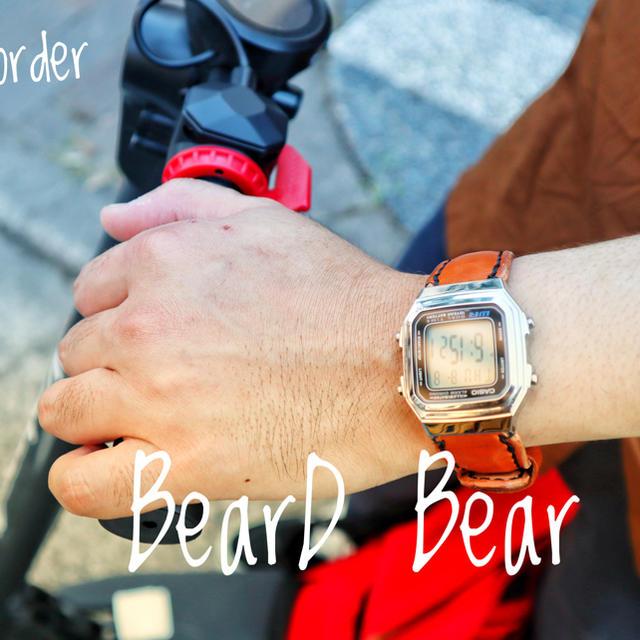 CASIO - [セミオーダー]CASIO A-178WA-1AJF ×栃木レザー総手縫の通販 by Beard-Bear's shop|カシオならラクマ